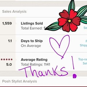 #PoshLove THANKS guys for all your support! 8 24